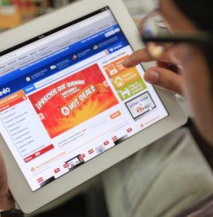 La tienda online Linio se promociona como la más grande de Latinoamérica.| Foto: Internet