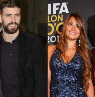 La enemistad entre la cantante barranquillera y Ruccozzo no ha afectado la relación entre Piqué y Messi.   Foto: TKM