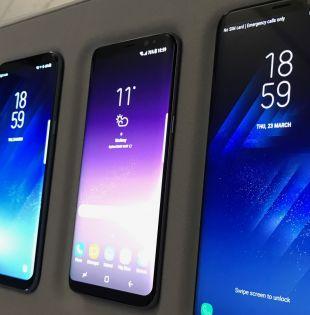 Sumergible, el nuevo Galaxy cuenta con tres medidas de seguridad biométrica: se podrá desbloquear mediante reconocimiento facial, con la huella dactilar o con el iris.  Foto: El Mundo