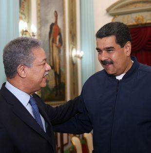 Maduro agradeció al expresidente de República Dominicana, al de Panamá Martín Torrijos, y al exjefe de Gobierno de España José Luis Rodríguez Zapatero.| Foto: Noticiassin