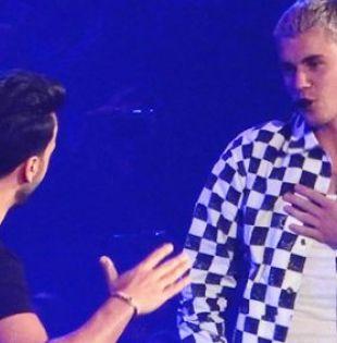 Fonsi se siente muy contento porque un artista global como Justin Bieber se interesó por cantar en español.| Foto: Captura de video