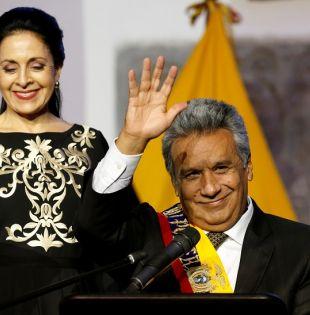 Moreno asumió la presidencia este miércoles 24 de mayo. | Foto: Reuters.