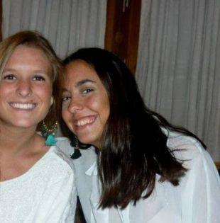 Las jóvenes turistas, Marina Menegazzo (21 años) y María José Coni (22), fueron reportadas como desaparecidas el 22 de febrero de 2016. Foto: archivo
