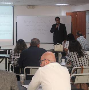 El gerente de ventas de Propakna Quinúa, Víctor Quirola, sostuvo que la estrategia para enfrentar la competencia en el mercado europeo es asociarse. Foto: El Ciudadano
