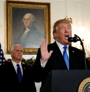"""Desde Twitter, Trump llamó a terminar con la """"obstrucción"""" de los demócratas, a quienes acusó de cerrar el gobierno para lograr concesiones en materia de inmigración. Foto: Reuters"""