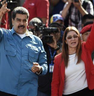 Maduro enfrenta una impopularidad de alrededor del 70% debido a la fuerte crisis económica. Foto: AFP