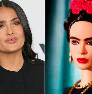 """""""No puedo creer que hayan hecho una barbie de nuestra Friducha que nunca trató de parecerse a nadie y siempre celebró su originalidad"""", escribió Salma Hayek. Foto: El Sol de México"""