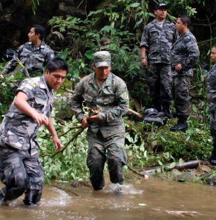 Según un informe de la Fundación Paz y Reconciliación, once grupos intentan hacerse con el control de esa región limítrofe con Ecuador y con costas en el océano Pacífico. Foto: Archivo  - Referencial - Ecuavisa