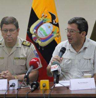 """""""Sobre los dos ciudadanos que se encuentran secuestrados no hemos tenido comunicación con los captores"""", dijo el ministro."""