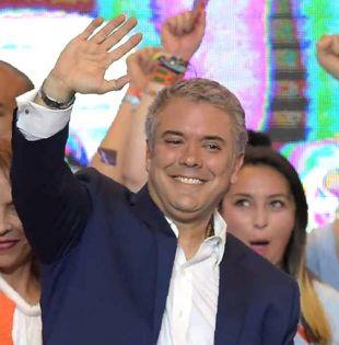 """Duque prometió que hará """"correcciones"""" a los acuerdos de paz con las FARC. Foto: AFP"""