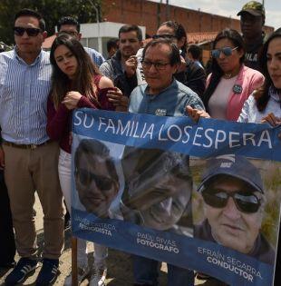 """""""Este un tema que requiere humanidad. Paúl, Javier y Efraín se merecen mucho más que un tweet"""", dijo Aguagallo. Foto: AFP"""