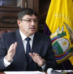 QUITO, Ecuador.- Rodrigo Suárez era jefe de Policía en 2012 cuando se dio el operativo en Colombia. Foto: Archivo