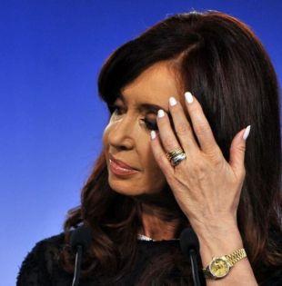 Kirchner, de 65 años, suma con éste su quinto procesamiento. Foto: archivo AFP