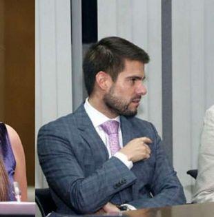 QUITO, Ecuador.- La visita de Sofía Espín a Diana Falcón se reveló en audiencia contra Rafael Correa y otros. Collage: Ecuavisa