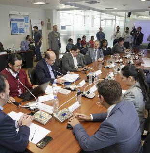 Los funcionarios deberán ampliar la información entregada la semana anterior. Foto: Asamblea