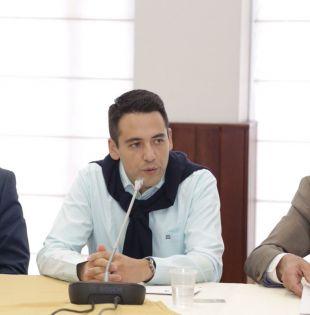 Esposo de la asambleísta Ana Galarza, Francisco Sevilla. Foto: Twitter Asamblea