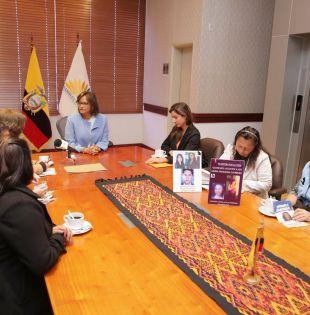 """Cabezas ratificó que no se trata de tramitar más leyes, pues el país """"cuenta con normativas específicas para prevenir la violencia"""". Foto: Twitter @AsambleaEcuador"""