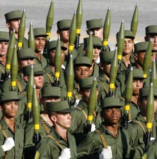 Fuerzas Armadas de Cuba respaldan a Nicol ás Maduro. Foto: Referencial
