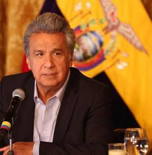 """Moreno rechazó las acusaciones en su contra por supuestos vínculos de familiares con empresas offshore y las calificó de """"farsas""""."""
