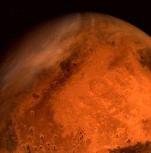 El sismómetro de InSight fue puesto en la superficie del planeta el 19 de diciembre de 2018. Foto: AFP