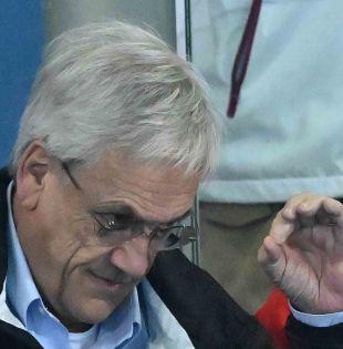 De 103 años y tío del actual mandatario chileno, Bernardino Piñera es un reconocido formador de sacerdotes en Chile. Foto: AFP