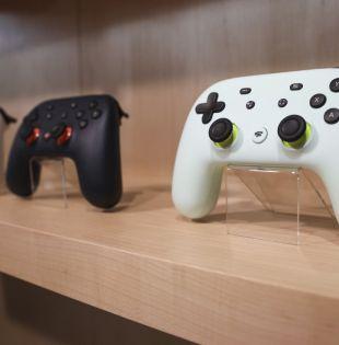 Google anunció que lanzará su plataforma de videojuegos por suscripción Stadia el 19 de noviembre. Foto: AFP.