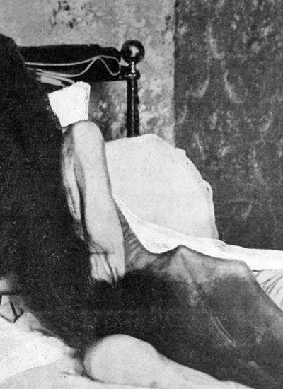 Blanche Monnier vivió encerrada 25 años en su cuarto.