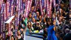 Michelle Obama en la Convención Demócrata de Filadelfia. Foto: Reuters
