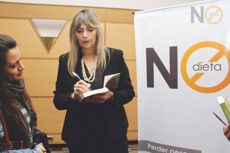 """Mónica Katz, autora del libro """"No Dieta""""."""