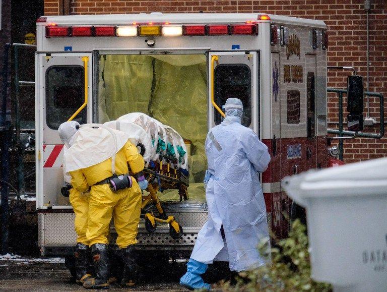 Salia, de 44 años, llegó en estado crítico al Centro Médico Nebraska. Foto: AFP