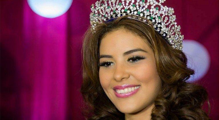 María José Alvarado tenía 19 años. Foto: AFP