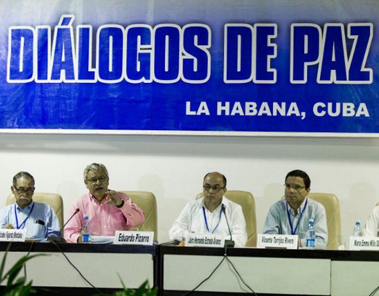 Las negociaciones en La Habana serán retomadas en el punto de las víctimas, el cuarto de los cinco de la agenda. Foto: AFP
