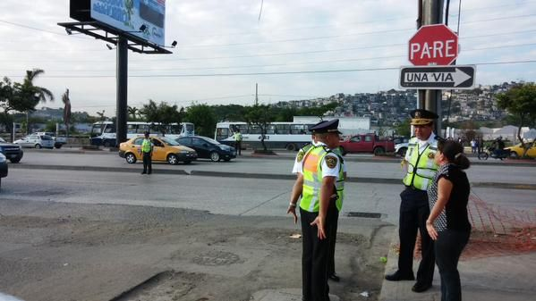 CTE patrullará Guayaquil hasta agosto. Foto: Twitter