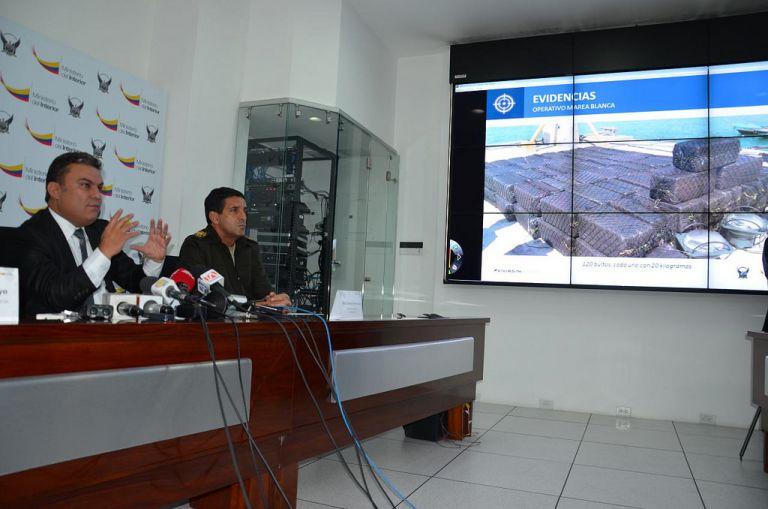 Rueda de prensa. Foto: Flickr / Ministerio del Interior