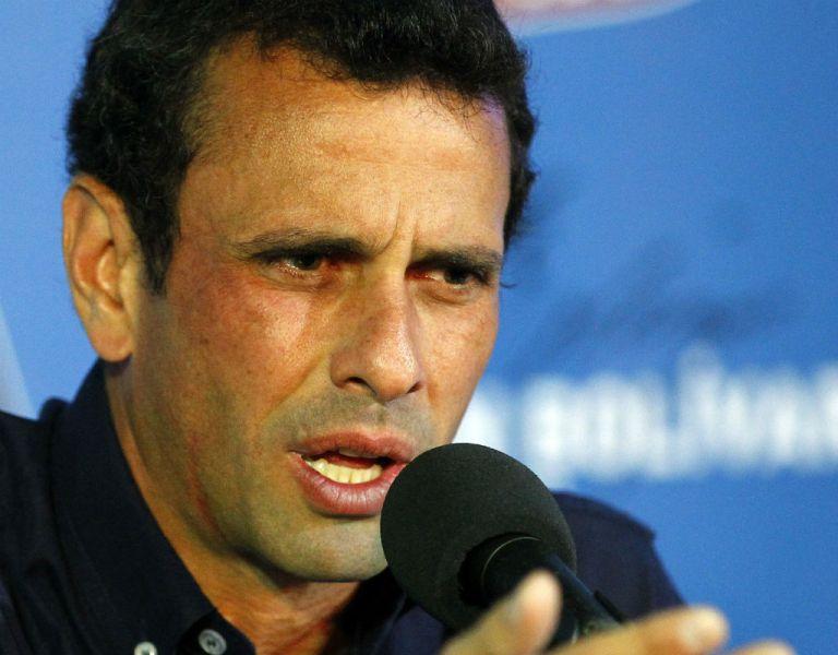 El opositor Henrique Capriles reaccionó ante el hecho a través de las redes sociales. Foto: Archivo