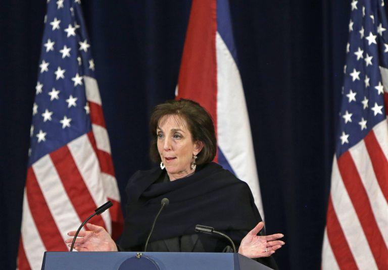 Jefa de la delegación estadounidense, Roberta Jacobson. Foto: REUTERS