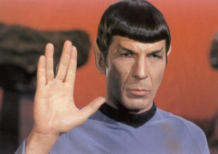 """""""Larga vida y prosperidad"""", el saludo universalizado por Spock, personaje interpretado por Nimoy."""