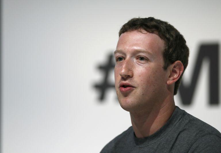 Zuckerberg durante su presentación en el Mobile World Congress en Barcelona. Foto: REUTERS