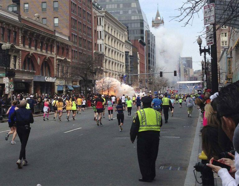 Las detonaciones se produjeron en la recta final de la maratón del 15 de abril de 2013. Foto: REUTERS