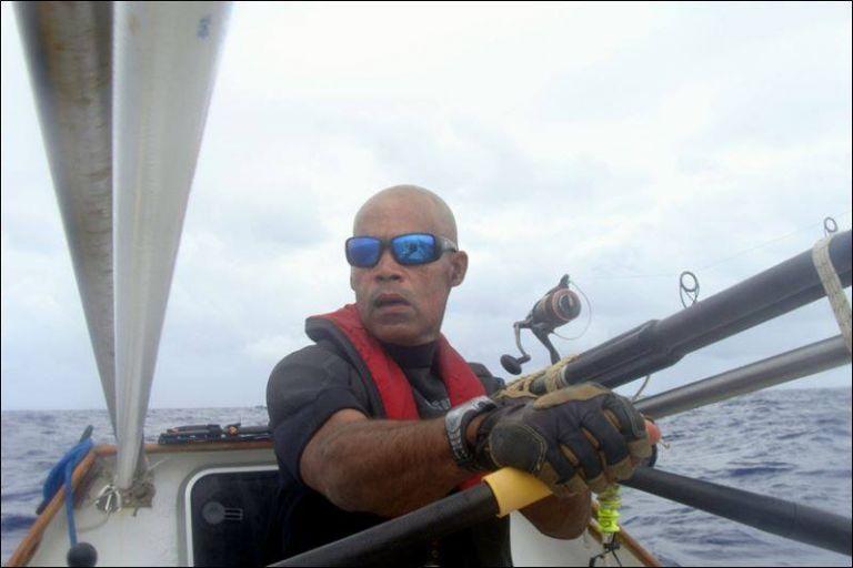 Mooney logró cruzar el año pasado el Atlántico desde las islas Canarias hasta el Caribe. Foto: Facebook / Goree Challenge