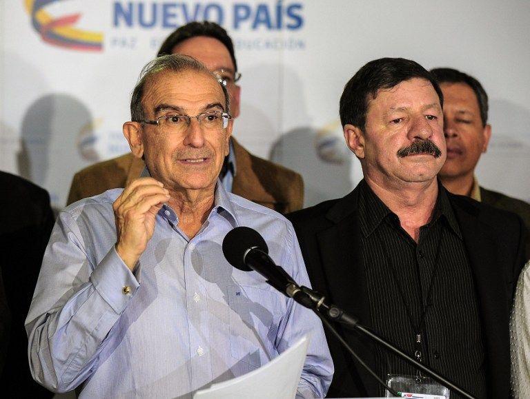 Jefe negociador de paz del gobierno con esa guerrilla comunista, Humberto de la Calle. Foto: AFP