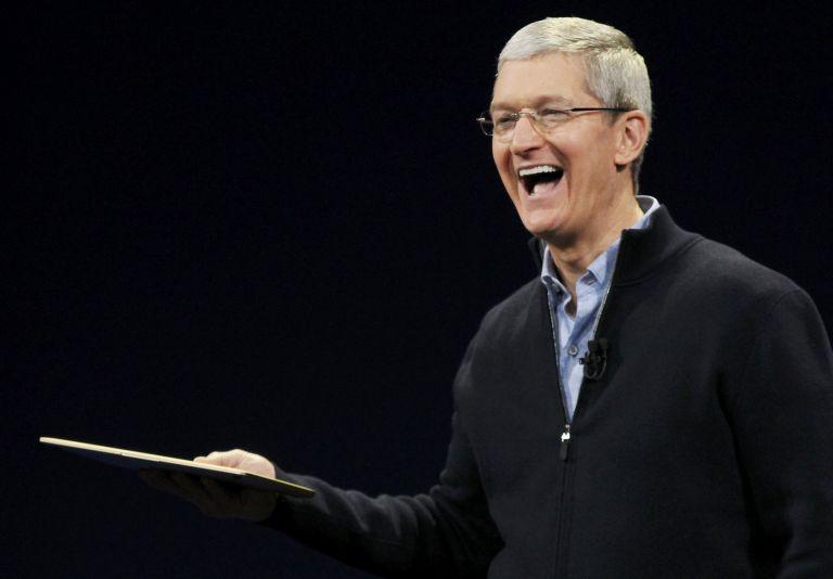 Tim Cook, CEO de Apple. Foto: Archivo / REUTERS.