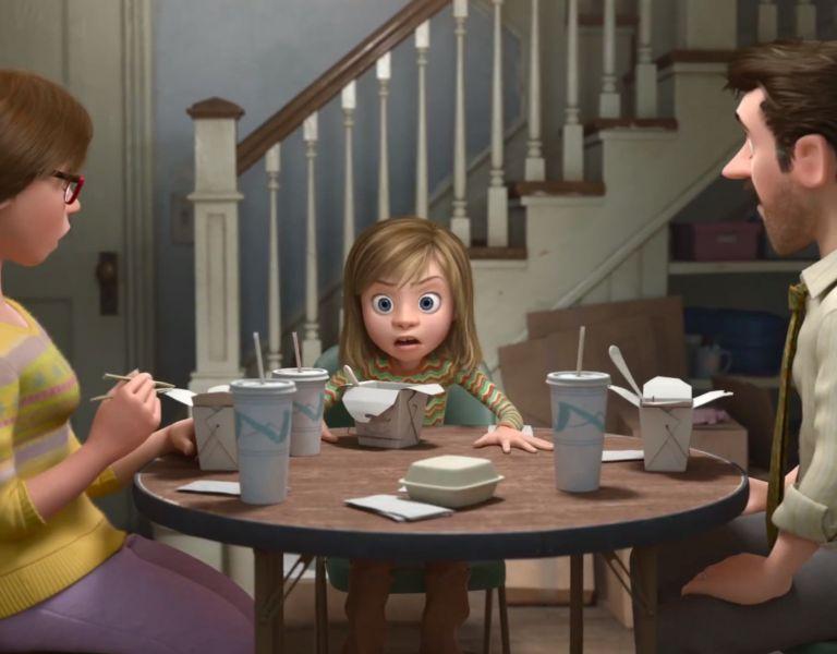 El director Peter Docter aseguró que la transformación que experimentó su hija durante la adolescencia fue una de las fuentes de inspiración del filme.
