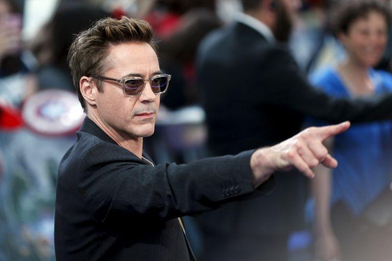 """Downey Jr, de 50 años, dio vida por primera vez a Tony Stark en 2008, en la película """"Iron Man"""", que fue un éxito de crítica y taquilla. Foto: REUTERS."""