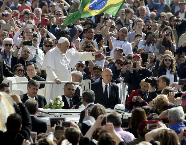 El papa Francisco visitará en julio las ciudades de Quito y Guayaquil. Foto: REUTERS