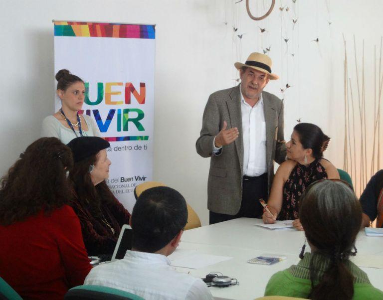 Foto: Secretaría Nacional del Buen Vivir.