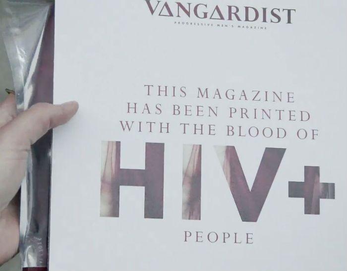 El dinero recaudado con la venta de este número especial se destinará a proyectos benéficos para afectados por el VIH.