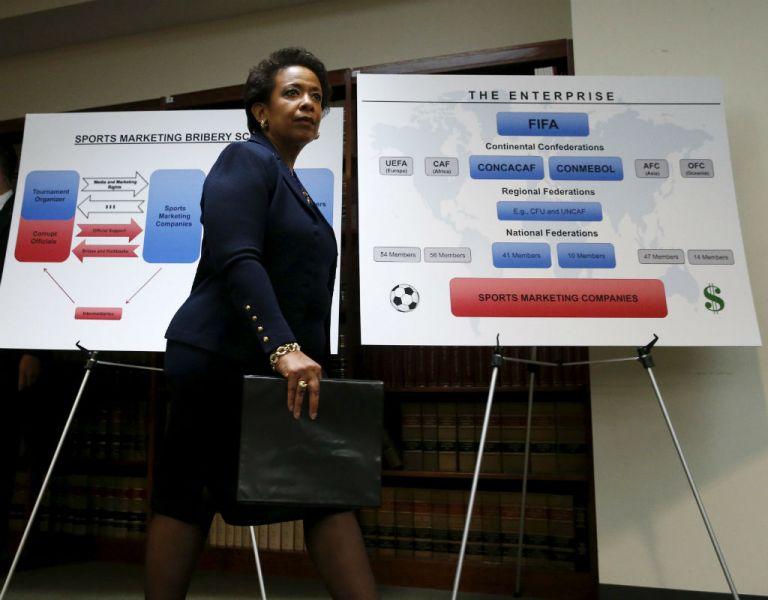 Loretta Lynch, secretaria de Justicia de Estados Unidos. Foto: REUTERS