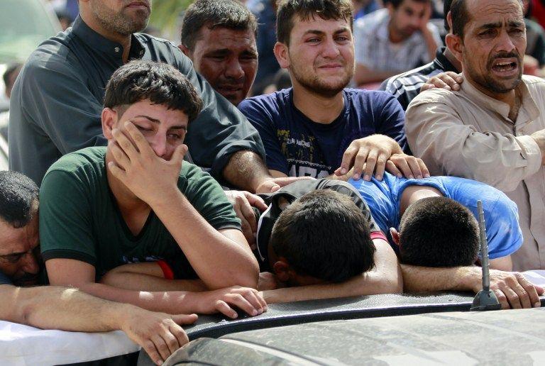 Atentado suicida. Foto: AFP