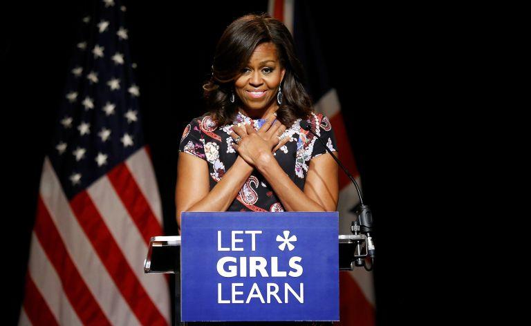 Michelle Obama, primera dama de EE.UU. Foto: Reuters